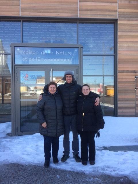 L'équipe d'accueil touristique de Miquelon
