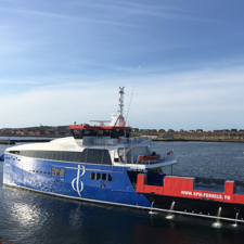 Un des ferry de SPM Ferries : Le Nordnet